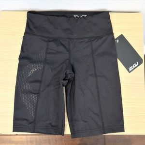Mid-Rise Compression Shorts